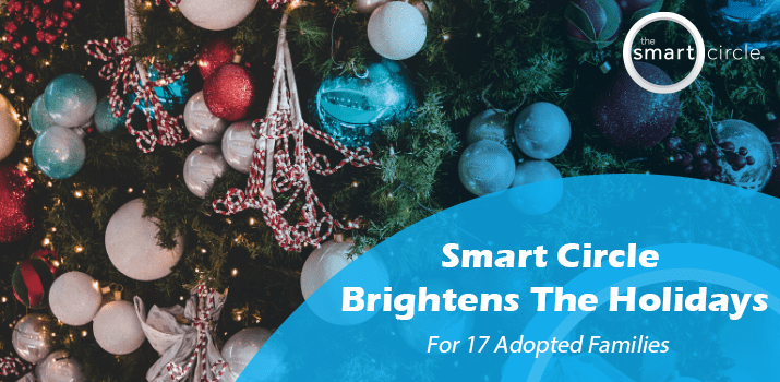 Smart Circle® International Brightens Holidays for 17 Adopted Families
