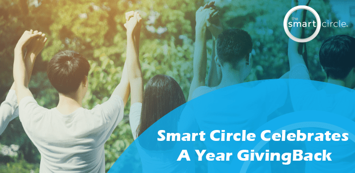 Smart Circle Celebrates a Year of Giving Back