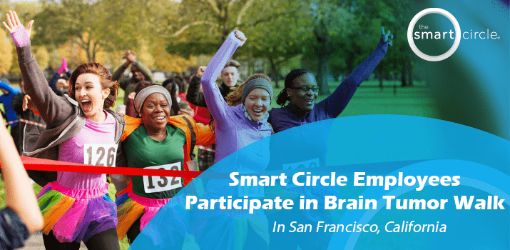 Smart Circle Employee Organizes Team to Participate in Brain Tumor Walk in San Francisco, CA
