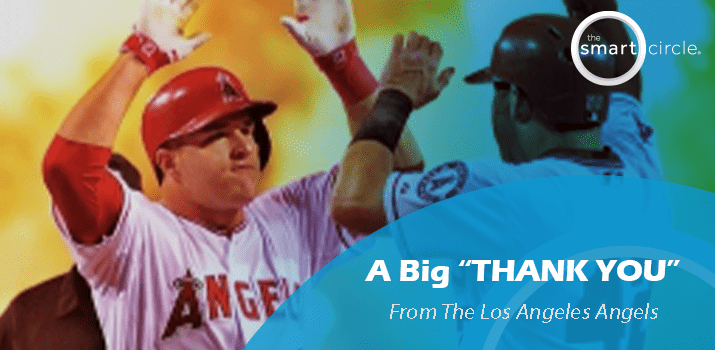 A Big Thank You From The  Los Angeles Angels!