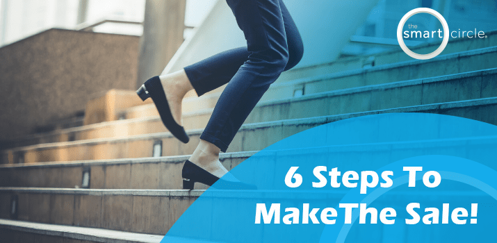 Six Steps To Make The Sale