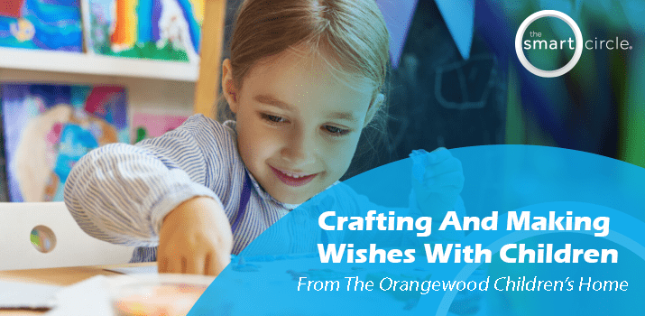 Doing Crafts And Making Wishes With Kids From Orangewood