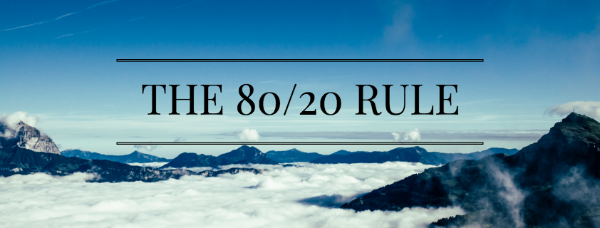 The Eighty/Twenty Rule in Sales